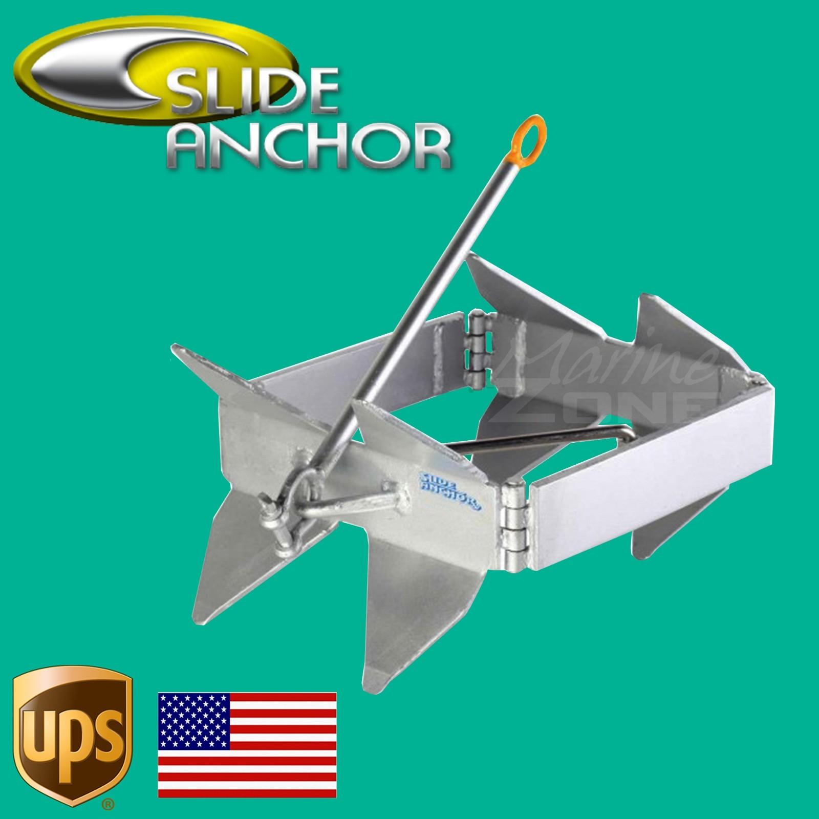 32-40/' off shore//cabin boats SLIDE BOX ANCHOR 12.25kg//27lb   LARGE