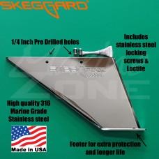 PARSUN Skeg Guard, Replacement Skeg SKEGGARD Outboards 40HP (13 Spline)