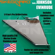 Johnson Evinrude Skeg Guard, Replacement Skeg SKEGGARD suits 40-140hp Omc Outboards