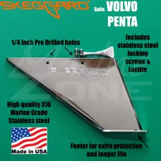 Volvo Skeg Guard, Replacment Skeg SKEGGARD suits All Model Volvo Sterndrives