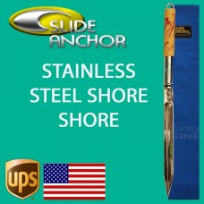 SMALL Slide Anchor Shore Spike STAINLESS STEEL