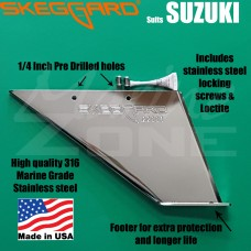 SUZUKI Skeg Guard 20-25-30HP, replacement SKEGGARD * Quality USA Manufactured*
