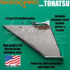 TOHATSU NISSAN 25-30hp SKEG GUARD, SKEGGARD * Quality USA Manufactured*